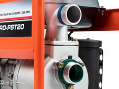DR PRO-PST20 2in Semi-Trash Water Pump