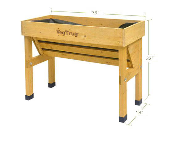 Small Wall Hugger VegTrug Raised Bed