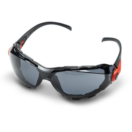 Foam-Lined Safety Glasses, Tinted