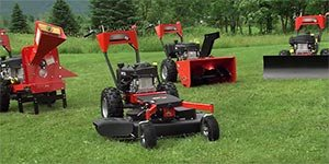 Field and Brush Mower Attachment Video