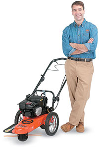 DR Trimmer Mower Support