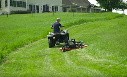 DR PRO 44TF Tow-Behind Finish Mower | DR Power Equipment