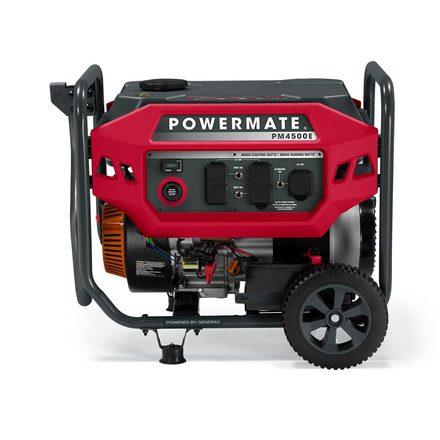 POWERMATE 4500W PORTABLE GENERATOR (50ST), ELECTRIC-START