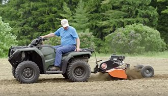 ATV Tow Behind Tiller