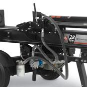 Hydraulic pump on a DR vertical/horizontal log splitter