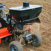 Roto-Hog  Spreader Attachment