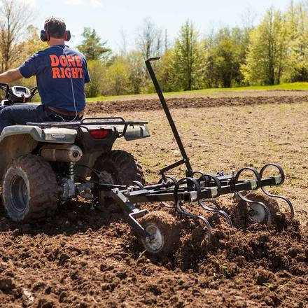 DR 48in ATV Tow Behind Cultivator