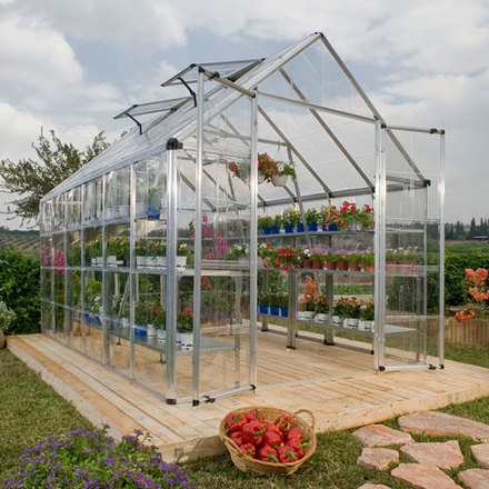 8x12 Clear View Greenhouse