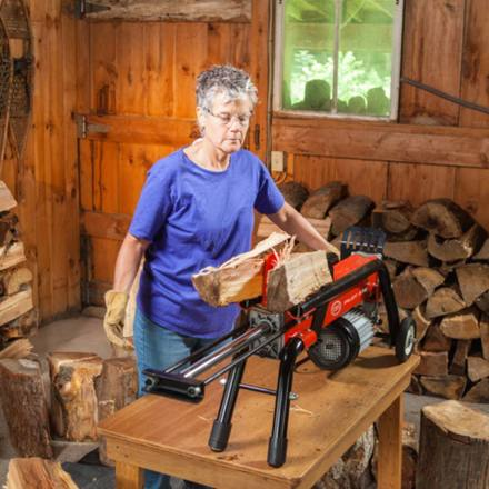 DR Electric Log Splitter