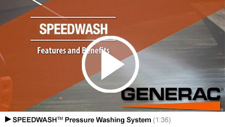 Video - Generac SpeedWash 3200 Overview