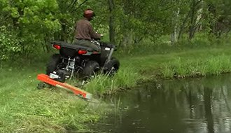 ATV Trimming and Mowing