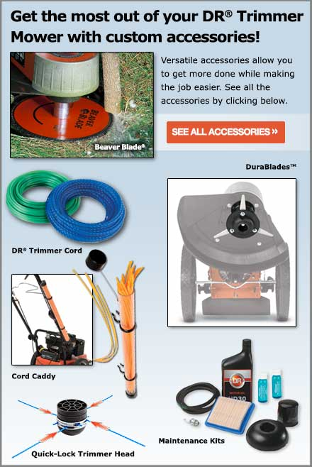 DR Premier Trimmer Mower parts and accessories