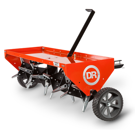 "DR 48"" Tow-Behind Plug Aerator"