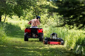 Field and Brush Mower Optimizing Your Property - Trails
