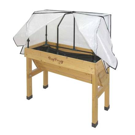Small Wall Hugger VegTrug Cover and Frame