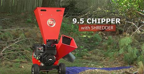 The DR 9.5 Chipper Shredder