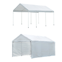 ShelterLogic Max AP Canopy 2-in-1 with Enclosure Kit