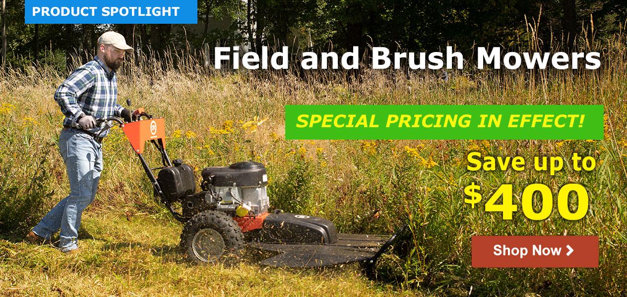 Field and Brush Mowers