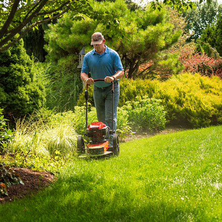 DR Trimmer Mower, Battery-Powered