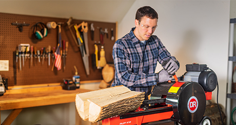 Learn about the K10 Log Splitter