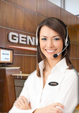 Generac Customer Support Representative. We're standing by!