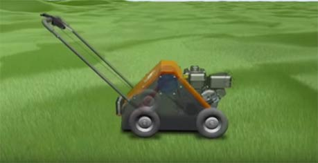 Video: DR Power Lawn Aerator