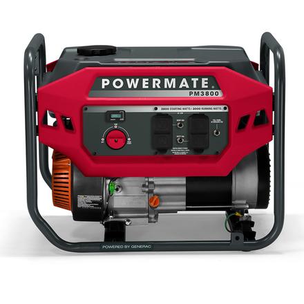 POWERMATE 3800W PORTABLE GENERATOR