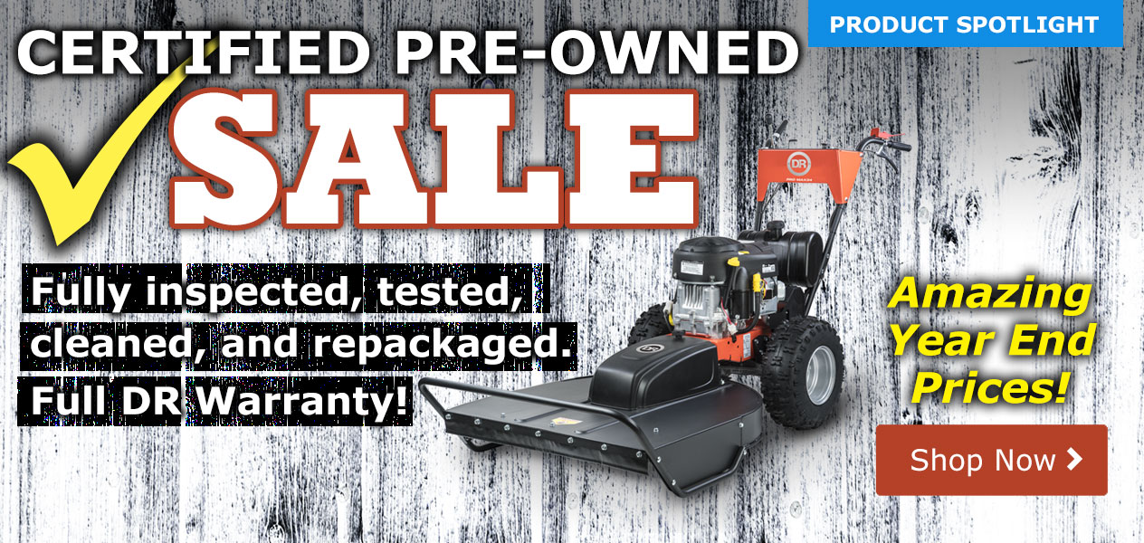 DR Reconditioned Sale