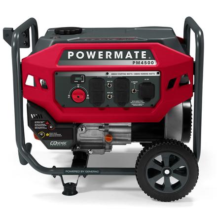 POWERMATE 4500W PORTABLE GENERATOR (50ST), MANUAL-START