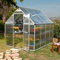 6x8 Twin Wall Greenhouse
