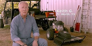 Field and Brush Mower Testimonial Video
