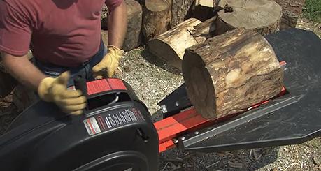 How the DR Rapid Fire Log Splitter Works