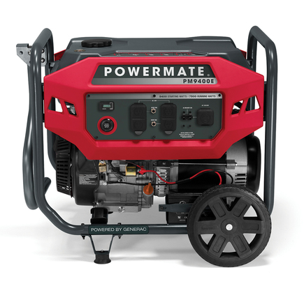 POWERMATE PORTABLE GENERATOR (49 ST), ELECTRIC START WITH EXTENSION CORD