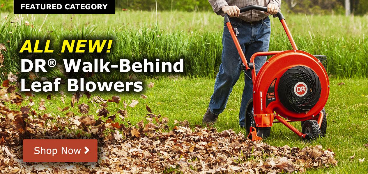 NEW! DR Walk-Behind Leaf Blowers