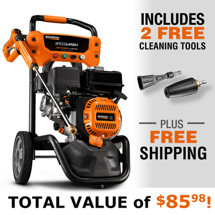 Generac SPEEDWASH™ Pressure Washer