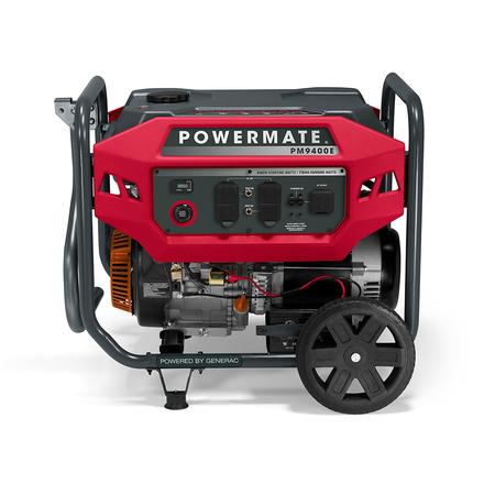 POWERMATE 4500W PORTABLE GENERATOR (49 ST), MANUAL-START