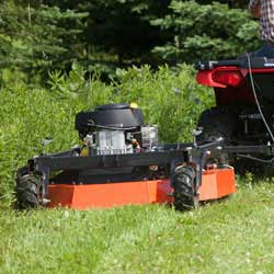 Field and Brush Mower Mulching Deck