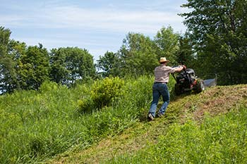 Field and Brush Mower Optimizing Your Property - Firebreaks