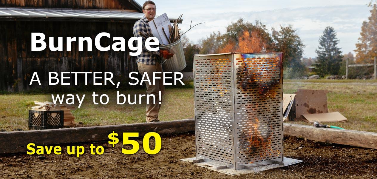 Shop Burncages