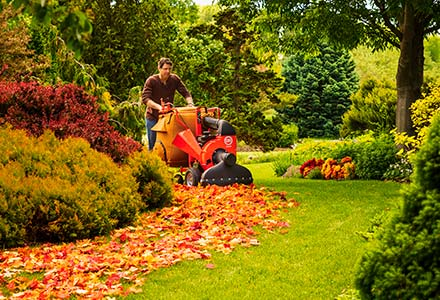DR Walk-Behind Leaf Vacuums